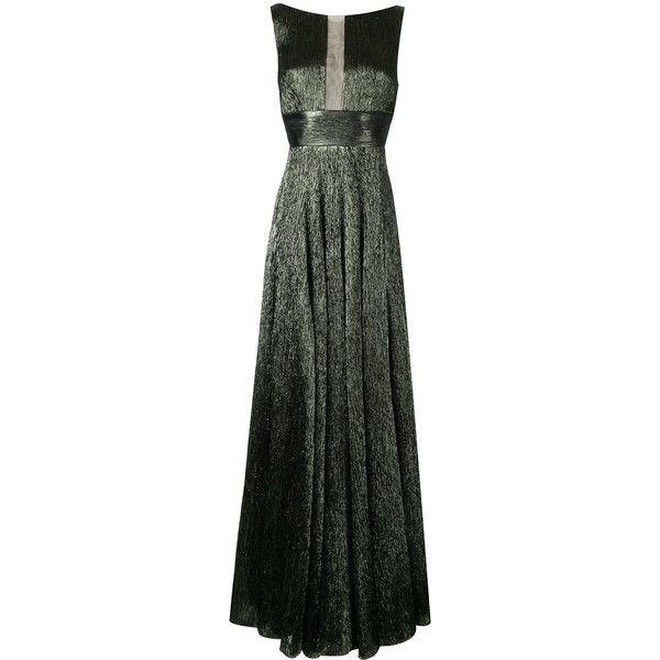 Alex Perry Rhett dress (18.120 HRK) ❤ liked on Polyvore featuring dresses, green, khaki green dress, green dress, zip back dress, alex perry dresses and alex perry