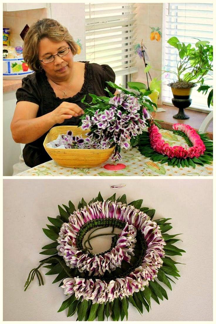 67 best hawaiian island leis images on pinterest flower lei hawaii bi color lei postcard leis honolulu hawaiian hi vintage hula hawaiian izmirmasajfo Image collections
