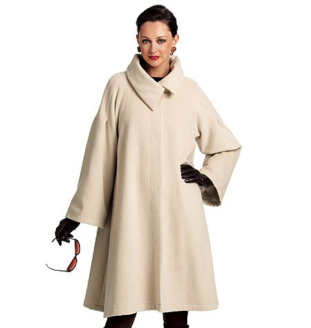 Ms. Fine Fabrics for Fashion and Fun!: Inspiration #3 - Opera Coat