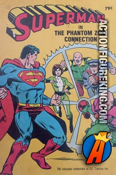 Vintage Superman in the Phantom Zone Connection A Big Little Book from Whitman. Please visit our site for a huge database of new and vintage collectibles. #whitman #abiglittlebook #superman