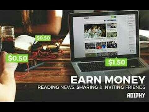 Earn money 💲💲💲 reading 📖 news📣 and articles, you can submit links and invite to make more money, Free registration, Join now! http://adiphy.com/invitation/c043cfccf12c092c30bbc60fb1d8c4fd4a113f5c?utm_campaign=crowdfire&utm_content=crowdfire&utm_medium=social&utm_source=pinterest