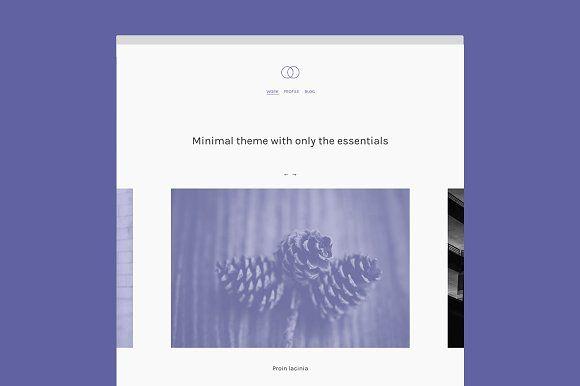 Minimal by Minimal Themes on @creativemarket