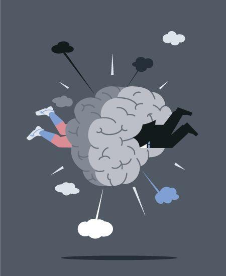 Aad Goudappel, illustrator - collision