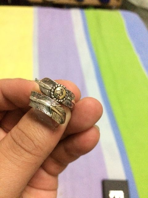 Кольцо индейцев Навахи.Ручная работа.
