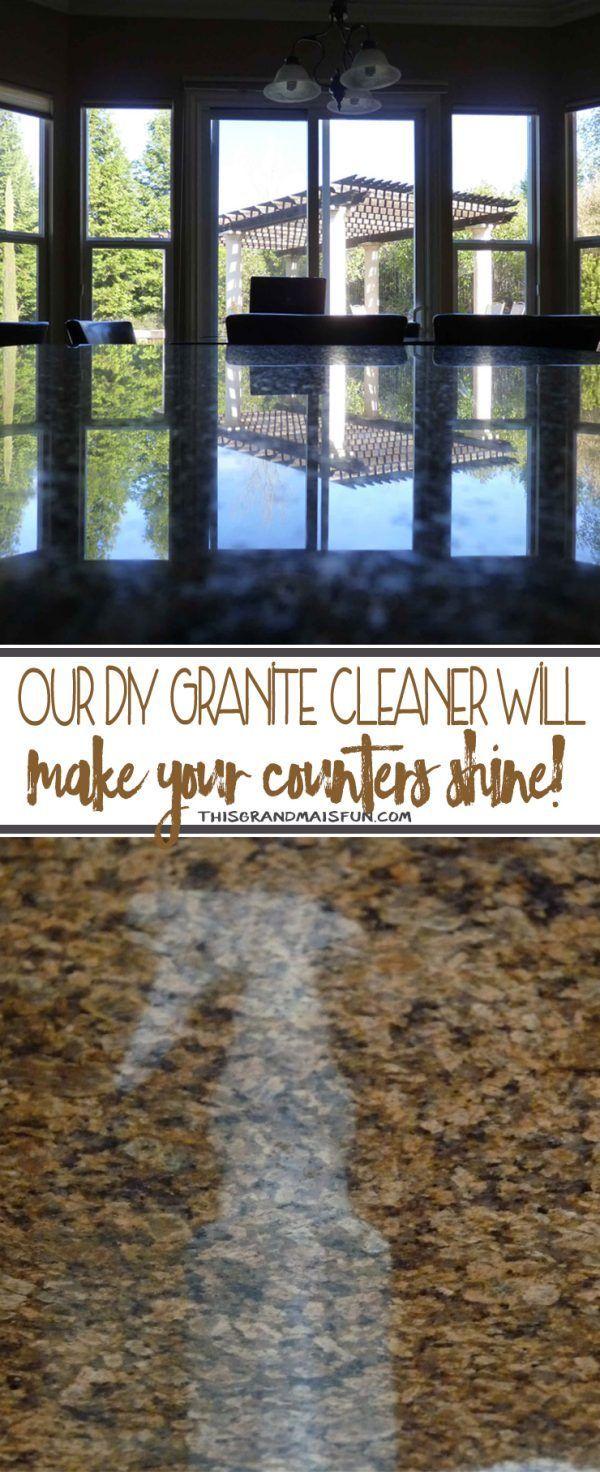 Diy Granite Cleaner Cleaner Diy Granite Haushalt