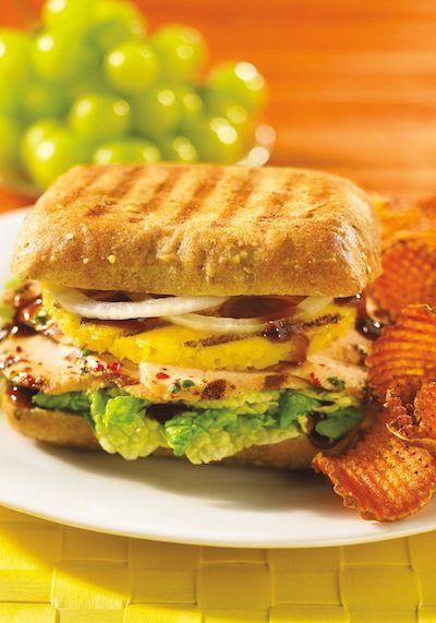 Hawaiian Chicken #Panini #recipe