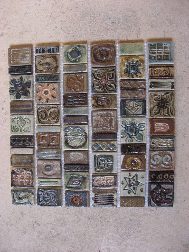 Mosaic Tiles. Lalele Pottery. DIY. Crafts.