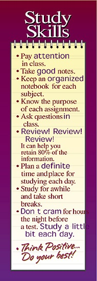 STUDY SKILLS...my class would practice this!