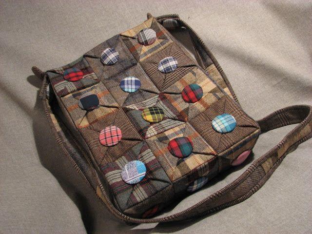 сумка оригами от Татьяны Шмидт