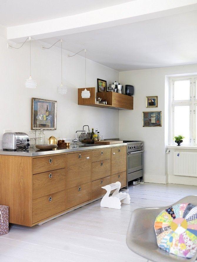 Drewniane szafki kuchenne