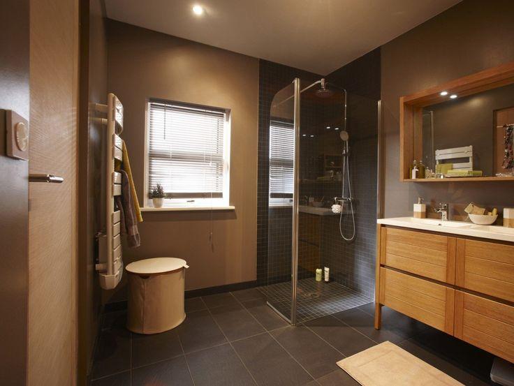 Salle de bains Brun/marron