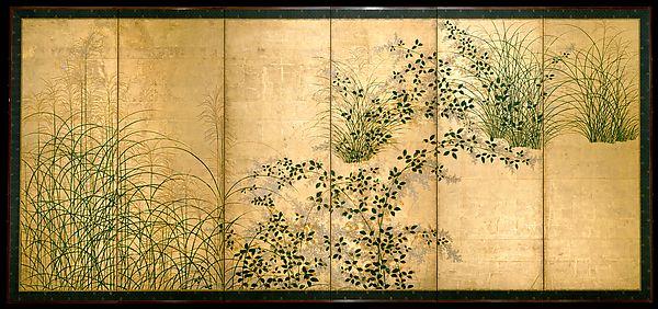 Autumn Grasses   Japan   Edo period (1615–1868)   The Met