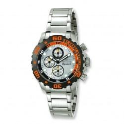 Mens Invicta Signature Orange Bezel Quartz Watch