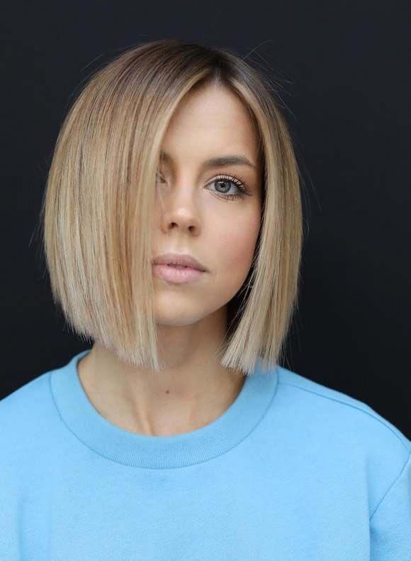 Explore This Link To See So Many Amazing Trends Of Soft Blunt Bob Hairstyles And Haircuts For Women To Make Them L In 2020 Stumpfe Bob Frisuren Bob Frisur Stumpfer Bob