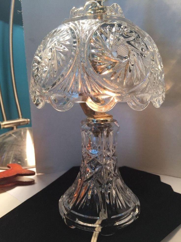 Underwriters Lab Inc Crystal Lamp Night Lite   | eBay