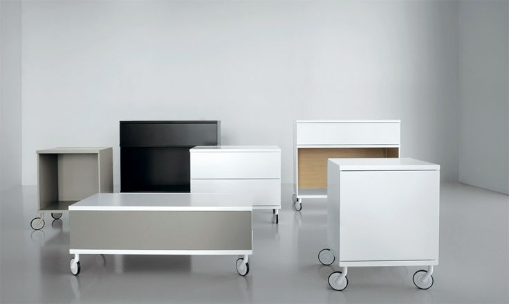TV multi-media trolleys, over time, by changing the position of the modules, you can vary the total width.
