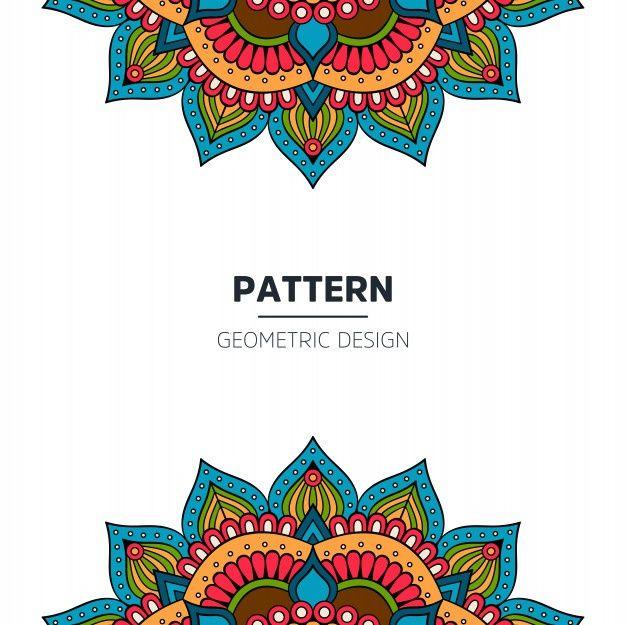 Dark Red Luxury Mandala Background Vector Free Download