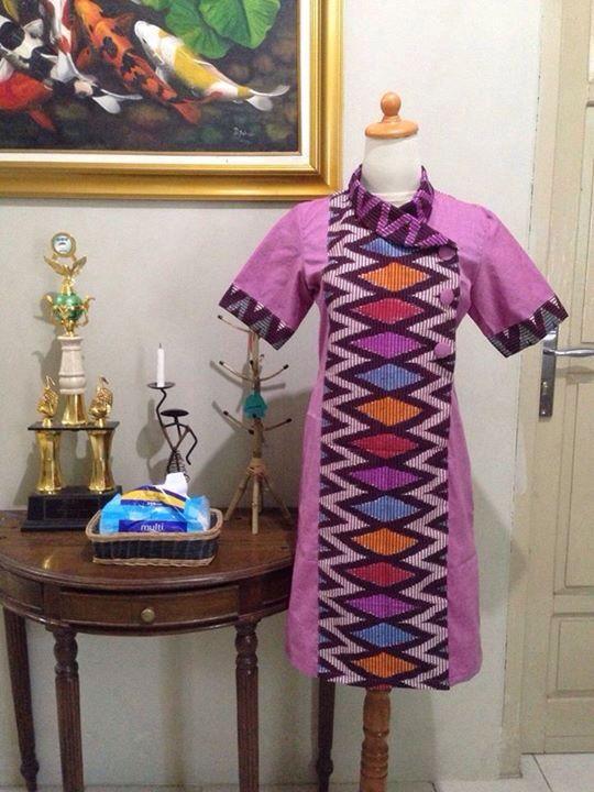 lurik batik ungu