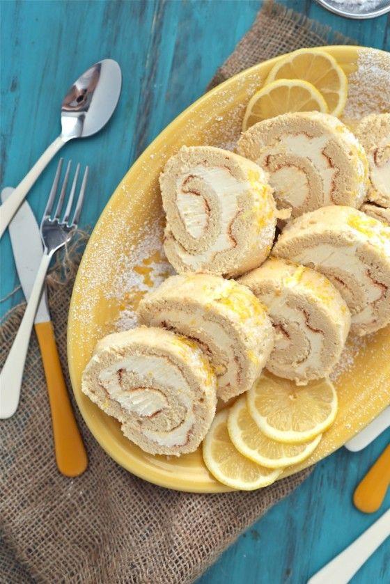 Lemon Roll Cake Recipe
