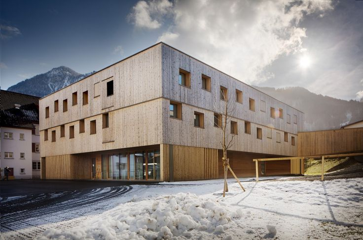Nenzing Nursing Home / Dietger Wissounig Architects