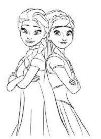 Paling Keren 30 Gambar Kartun Frozen Untuk Diwarnai 40 Gambar Mewarnai Untuk Siswa Paud Play Group Dan Tk Download Terlengkap G Gambar Gambar Kartun Warna