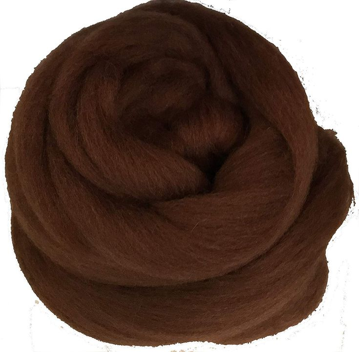 Baby Alpaca Silk Fiber Blend Natural Black Luxuriously Soft Combed Top Wool Roving for Spinning Felting Blending and Other Fiber Crafts