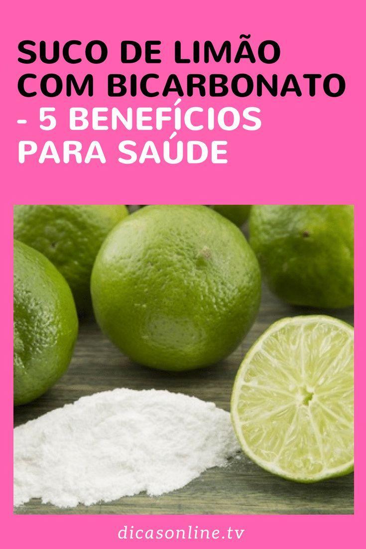 Bicarbonato Com Suco De Limao E Seus Usos Bicarbonato De Sodio Limao E Bicarbonato Para Emagrecer
