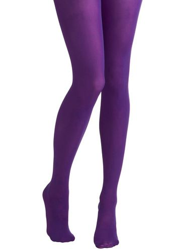 Tights for Every Occasion in Violet by Tabbisocks - Purple, Solid, Fall, Winter, Girls Night Out, Best Seller, Statement