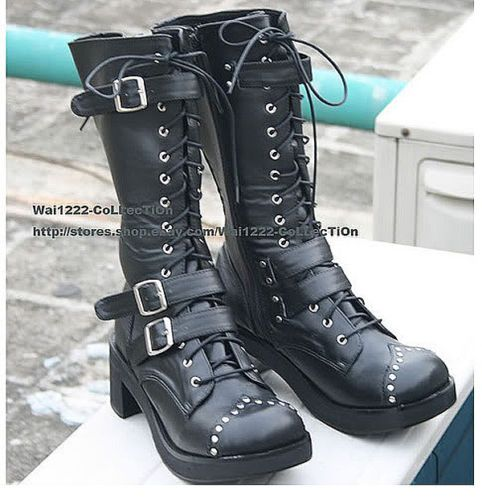 Kera Sweet Dolly Lolita Boots Goth Shoes 5 5 11 34 44 | eBay