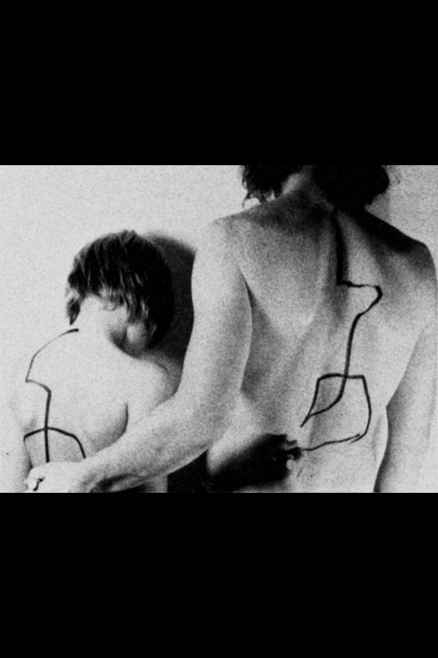 Dennis and Erik Oppenheim, 1971 - A feed-back Situation