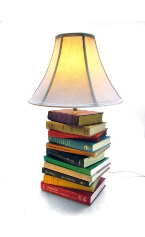 Love Hue Studios - he repurposes all sorts of vintage things into lamps, clocks, ipod speakers