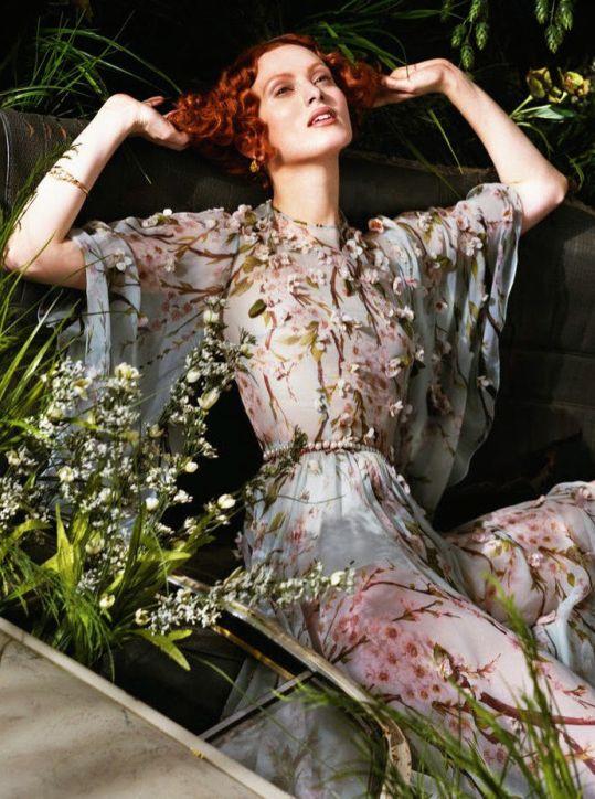 Karen Elson by Jeff Bark for Porte Magazine #2, Summer 2014