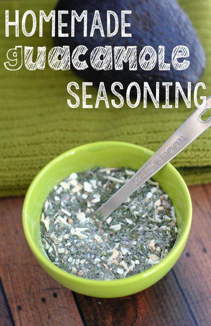 Cinco de Mayo Recipe: Homemade Guacamole Seasoning