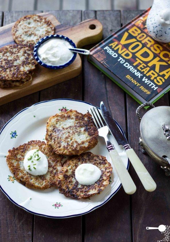 {Recipe} Polish Potato Pancakes from a new cookbook