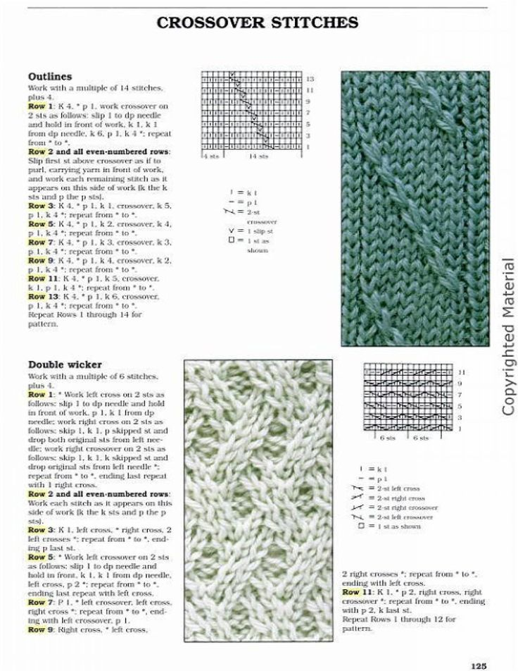 Big Book Of Knitting Stitch Patterns Free Download : 17 migliori immagini su punti e spunti tricot su Pinterest Patrones, Punti ...