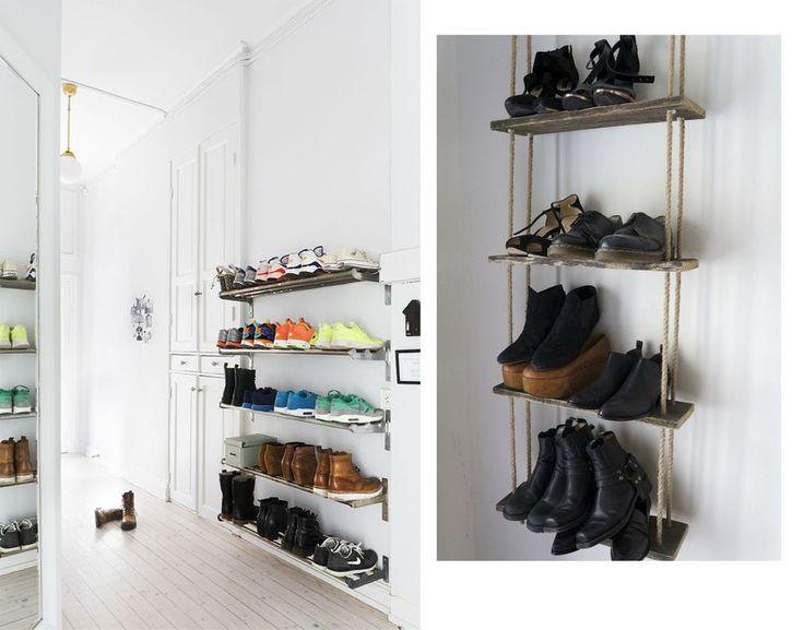 schuhschrank Interior // <br/> Das Schuh Schrank Problem