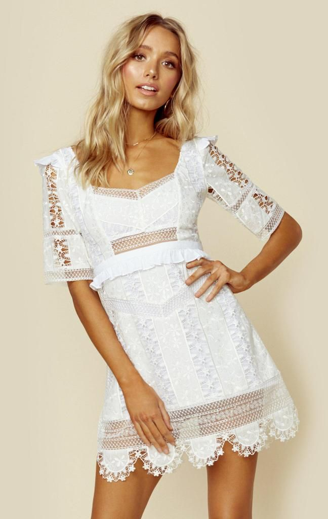 Photo of Amandine mini dress – ivory / xs – Latest Style Finds