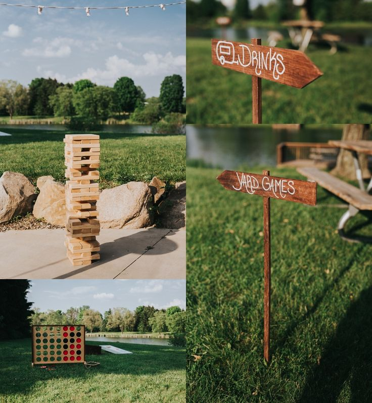 wedding games -  wedding signs #rusticweddinginspiration #barnweddings