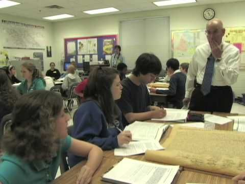 Teaching American History: Declaration of Independence Classroom 1 - YouTube