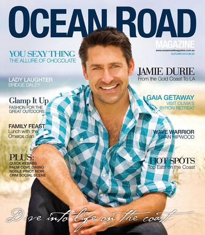 From the GC to LA, Jamie Durie graces the cover of our Autumn 2012 issue