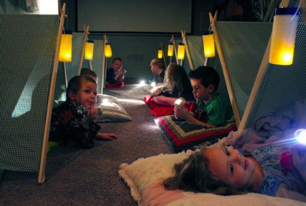'Camping Jax' kinderfeestje op Versier je Feest