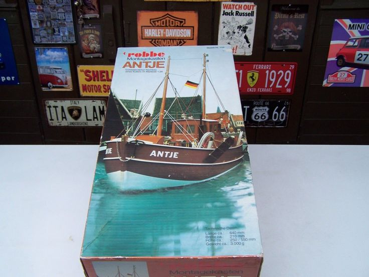 """Rc model boat #robbe """"antje"""" fishing tug boat #cutter #trawler model kit,  View more on the LINK: http://www.zeppy.io/product/gb/2/332096099636/"""