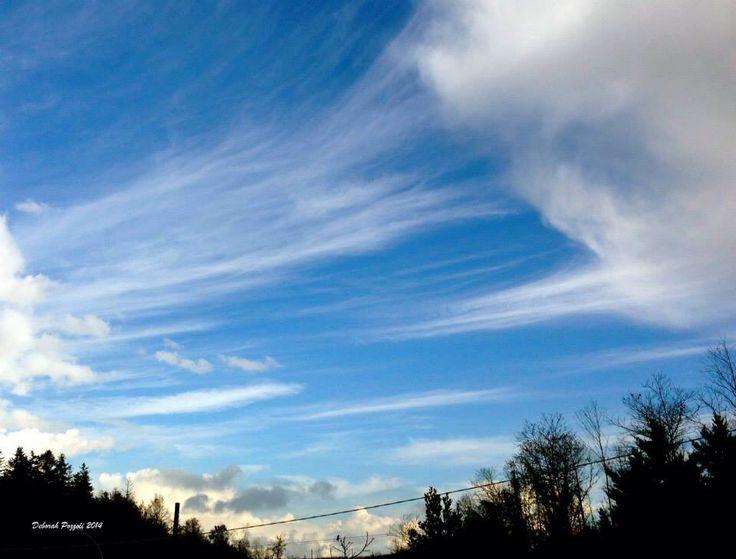Cielo, nuvole e linee (7.12.2014)