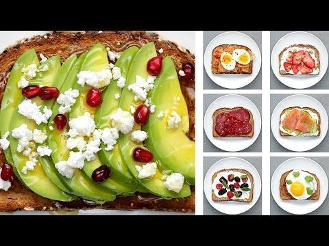 12 Breakfast Toasts To Give You Extra Energy For The Day - Gwyl.io