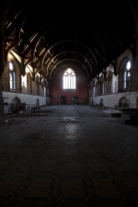 St Edward's Mental Hospital Chapel, Cheddleton