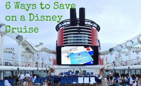 6 ways to Save on a Disney Cruise | www.kidsonaplane.com