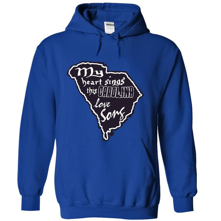 (Tshirt Deal Today) My heart sings this Carolina love song [Tshirt Best Selling] Hoodies, Tee Shirts