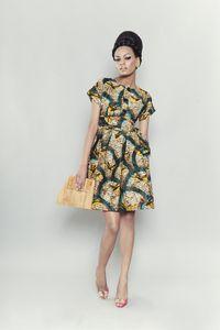 Hanna DressAfrican Fashion, Labyrinths Collection, Vintage Prints, Fashion Design, African Prints, Sika Design, Sikadesign, Ankara Design, Hanna Dresses