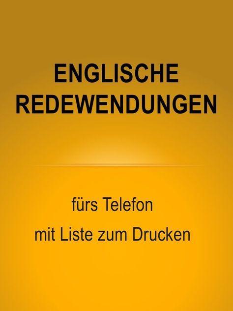 Geschäftlich telefonieren – auf Englisch – mit Liste zum Drucken – Debra Lehmann