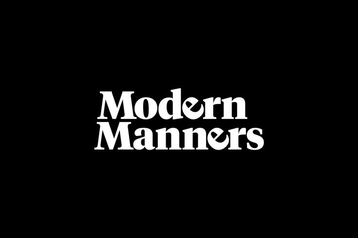 """Check out this @Behance project: """"Modern Manners"""" https://www.behance.net/gallery/45306091/Modern-Manners"""